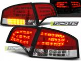 AUDI A4 B7 11.04-03.08 SEDAN RED WHITE LED