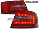 AUDI A6 C6 SEDAN 04.04-08 RED WHITE LED