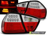 BMW E90 03.05-08.08 RED WHITE LED BAR