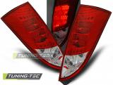 FORD FOCUS MK1 10.98-10.04 HATCHBACK RED WHITE LED