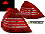 MERCEDES C-KLASA W203 SEDAN 00-04 RED WHITE LED