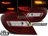 MERCEDES C-KLASA W204 SEDAN 07-10 RED WHITE LED BAR