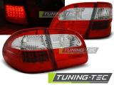MERCEDES W211 WAGON E-KLASA 02-06 RED WHITE LED