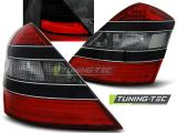 MERCEDES W221 S-KLASA 05-09 RED SMOKE BLACK LED