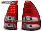 TOYOTA LAND CRUISER 120 03-09 RED WHITE LED