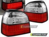VW GOLF 3 09.91-08.97 RED WHITE LED
