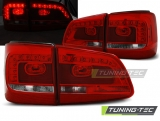 VW TOURAN 08.10- RED WHITE LED