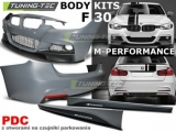 BODY KIT BMW F30 11- M-PERFORMANCE PDC