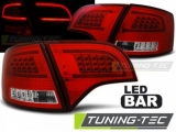 AUDI A4 B7 11.04-03.08 AVANT RED WHITE LED BAR