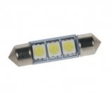 LED sufit (36mm) bílá, 24V, 3LED/3SMD