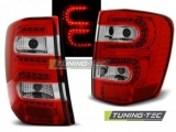 Světla zadní CHRYSLER JEEP GRAND CHEROKEE 99-05.05 RED WHITE LED