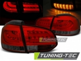 Světla zadní VW GOLF 6 10.08-12 RED SMOKE LED BAR