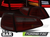 Světla zadní VW GOLF 7 13- RED SMOKE LED BAR