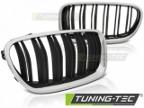 Maska BMW F10 / F11 10-16 M5 LOOK CHROME BLACK