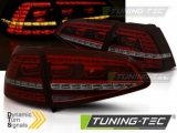 VW GOLF 7 13-17 RED SMOKE LED GTI LOOK SEQ