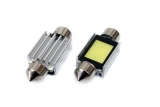 COB LED žárovka 12V s paticí sufit (39mm)