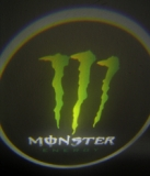 Laser LOGO Monster