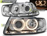 Audi A3 09.00-05.03 Angel Eyes Chrome