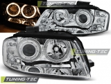 Audi A3 8P 05.03-03.08 Angel Eyes Chrome