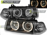 BMW E36 12.90-08.99 Angel Eyes Black