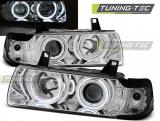 BMW E36 12.90-08.99 C/C Angel Eyes Chrome
