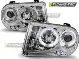 Chrysler 300C 05-10 Angel Eyes Chrome