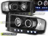 Dodge Ram 02-06 Angel Eyes Black