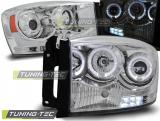 Dodge Ram 06-08 Angel Eyes Chrome