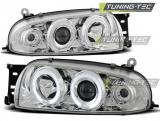 Ford Fiesta MK4 10.95-08.99 Angel Eyes Chrome