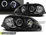 Honda Civic 03.99-02.01 Angel Eyes Black