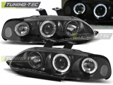 Honda Civic 09.91-08.95 2D/3D Angel Eyes Black