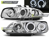 Honda Civic 09.91-08.95 2D/3D Angel Eyes Chrome