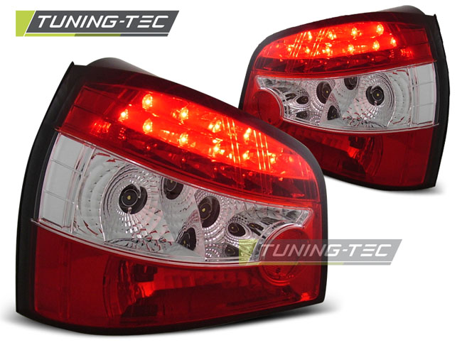 AUDI A3 09.96- 08.00 RED WHITE LED