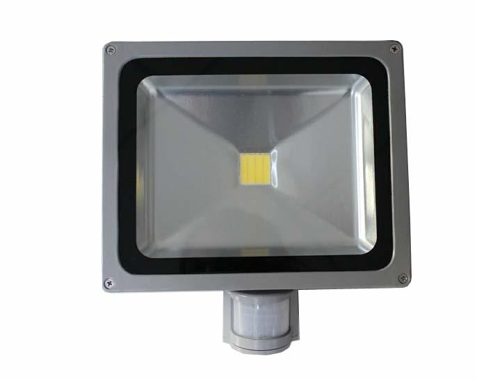 LED venkovní světlo s čidlem 30W, 6000-6500K