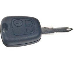 Náhr. obal klíče pro Peugeot, 2-tlačítkový