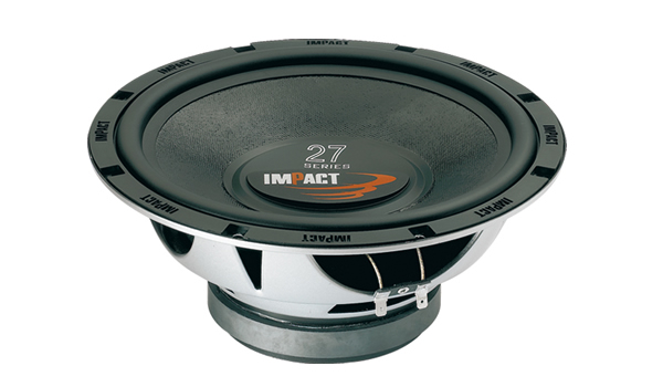 Impact subwoofer, 250mm, 150W